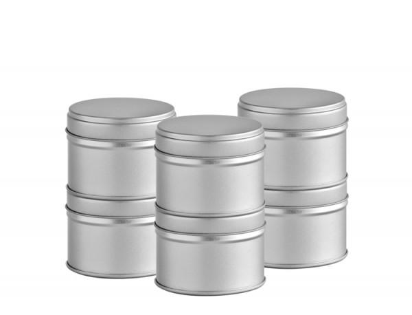 6er Pack der kleinen Gewürz-Dosen